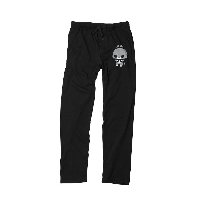 scaredy scaredy grey bunny Men's Lounge Pants by Ziqi - Monster Little