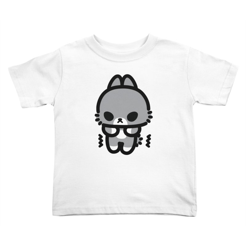 scaredy scaredy grey bunny Kids Toddler T-Shirt by Ziqi - Monster Little