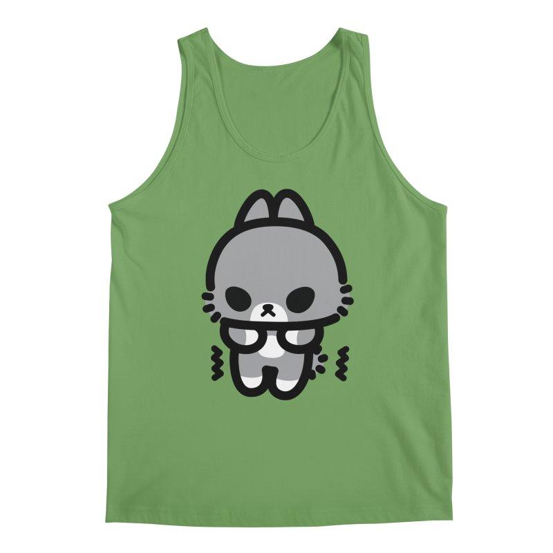 scaredy scaredy grey bunny Men's Tank by Ziqi - Monster Little