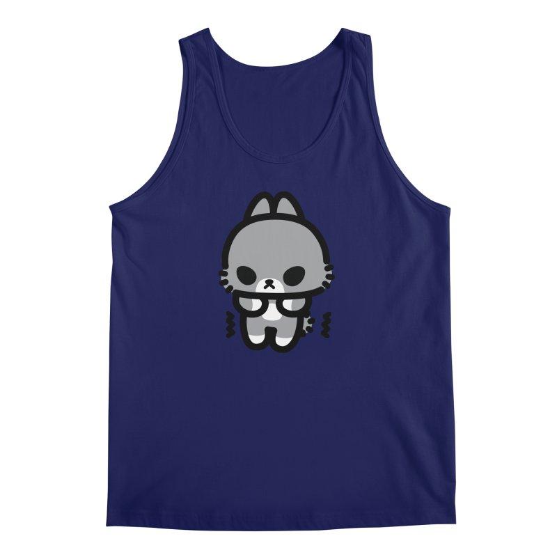 scaredy scaredy grey bunny Men's Regular Tank by Ziqi - Monster Little