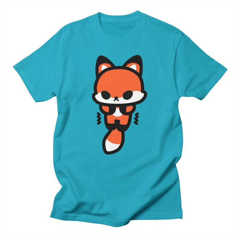 scaredy scaredy fox Men's T-Shirt by Ziqi - Monster Little