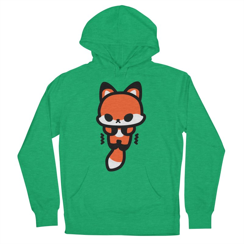 scaredy scaredy fox Women's French Terry Pullover Hoody by Ziqi - Monster Little