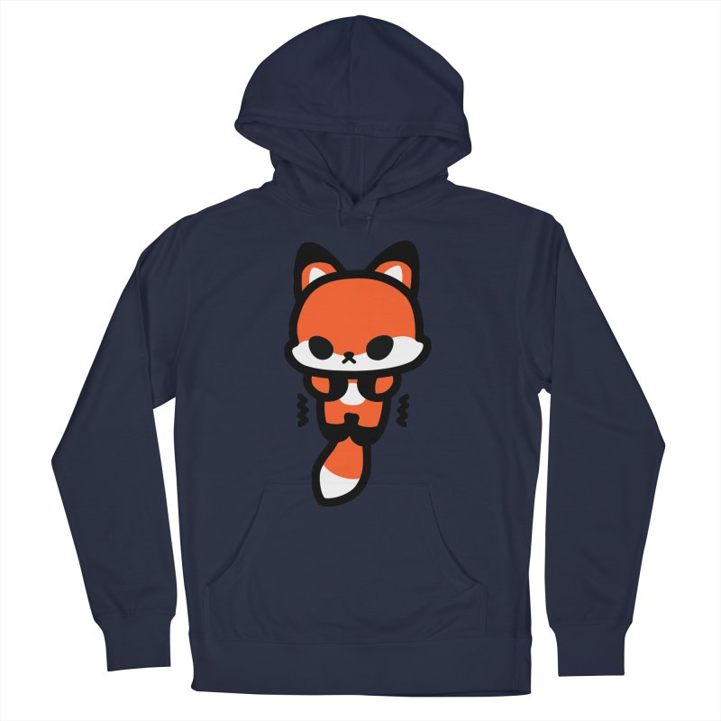 scaredy scaredy fox Men's Pullover Hoody by Ziqi - Monster Little