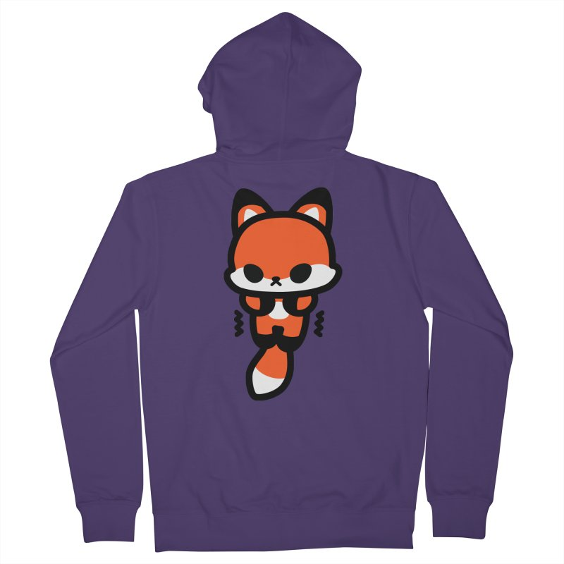 scaredy scaredy fox Women's Zip-Up Hoody by Ziqi - Monster Little