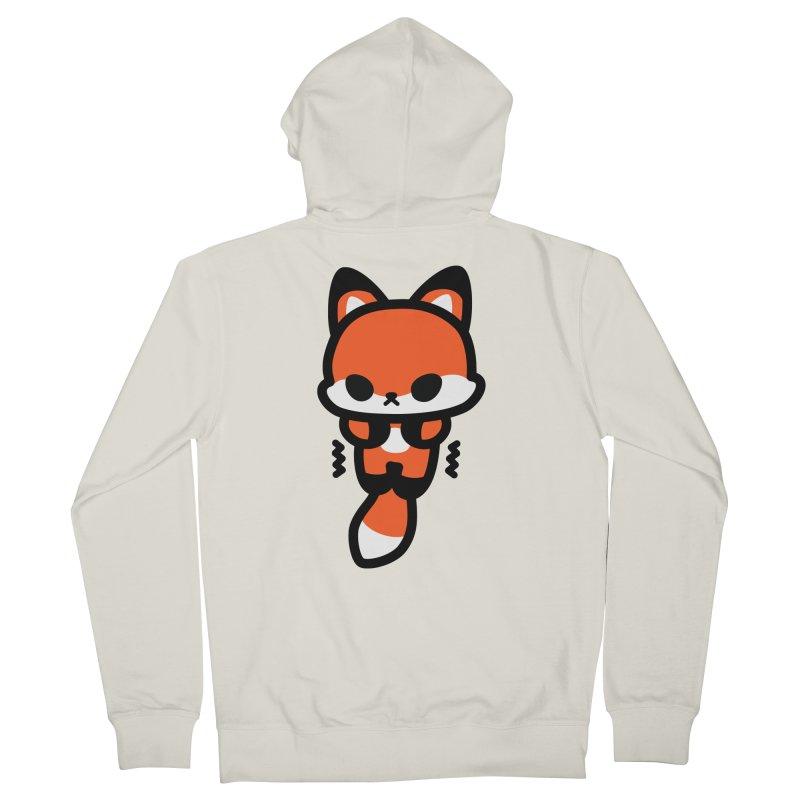 scaredy scaredy fox Women's French Terry Zip-Up Hoody by Ziqi - Monster Little