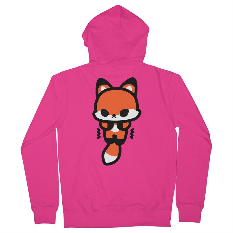 scaredy scaredy fox Men's Zip-Up Hoody by Ziqi - Monster Little