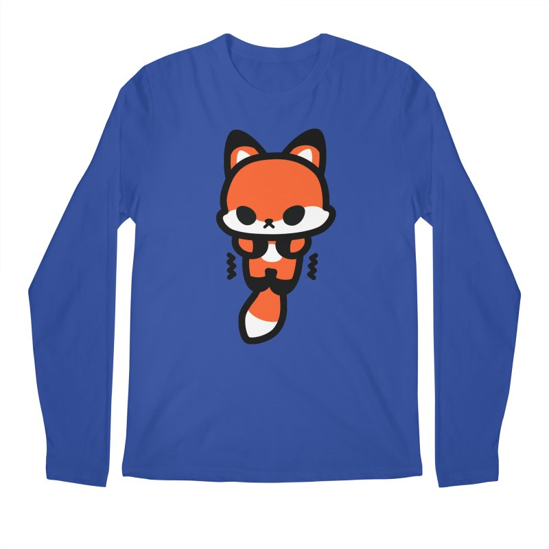 scaredy scaredy fox Men's Regular Longsleeve T-Shirt by Ziqi - Monster Little