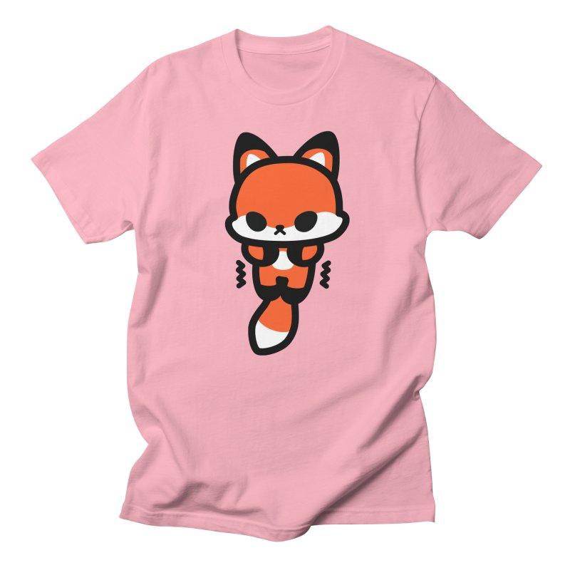 scaredy scaredy fox Men's Regular T-Shirt by Ziqi - Monster Little