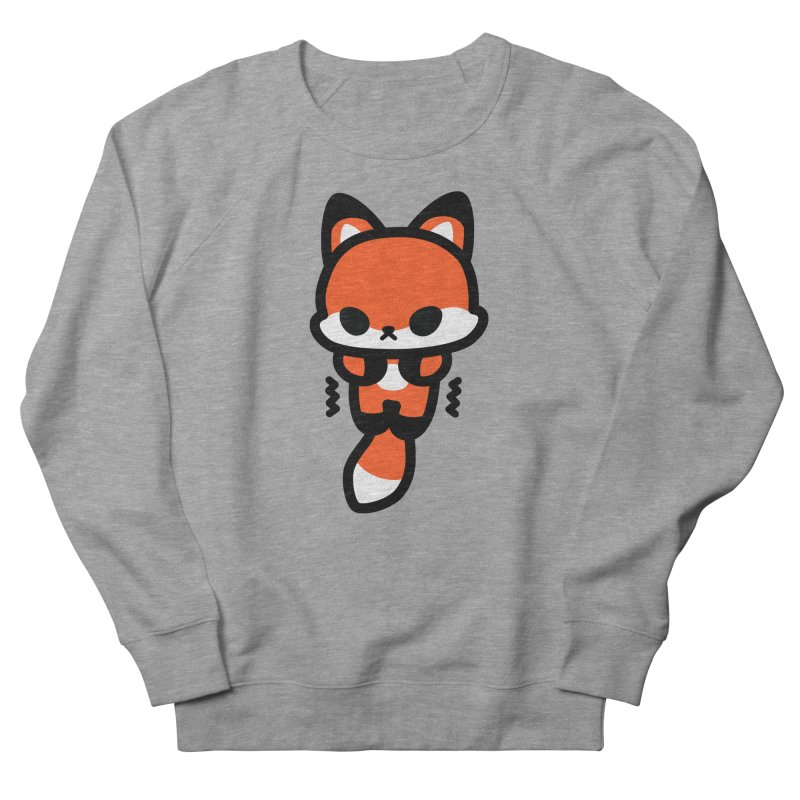 scaredy scaredy fox Women's French Terry Sweatshirt by Ziqi - Monster Little