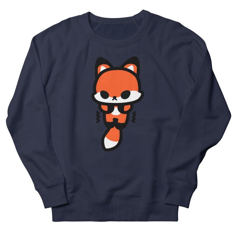 scaredy scaredy fox Women's French Terry Sweatshirt by Ziqi - Monster Little