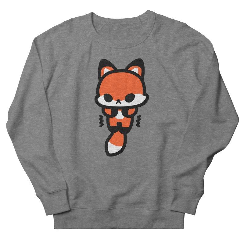 scaredy scaredy fox Men's French Terry Sweatshirt by Ziqi - Monster Little