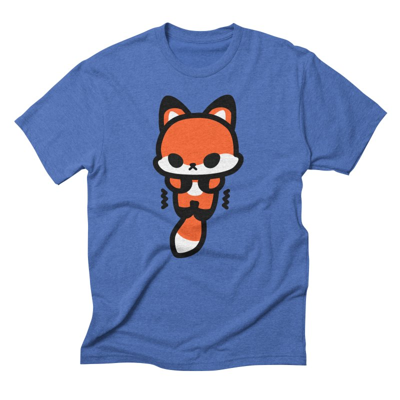 scaredy scaredy fox Men's T-Shirt by Ziqi - Monster Little