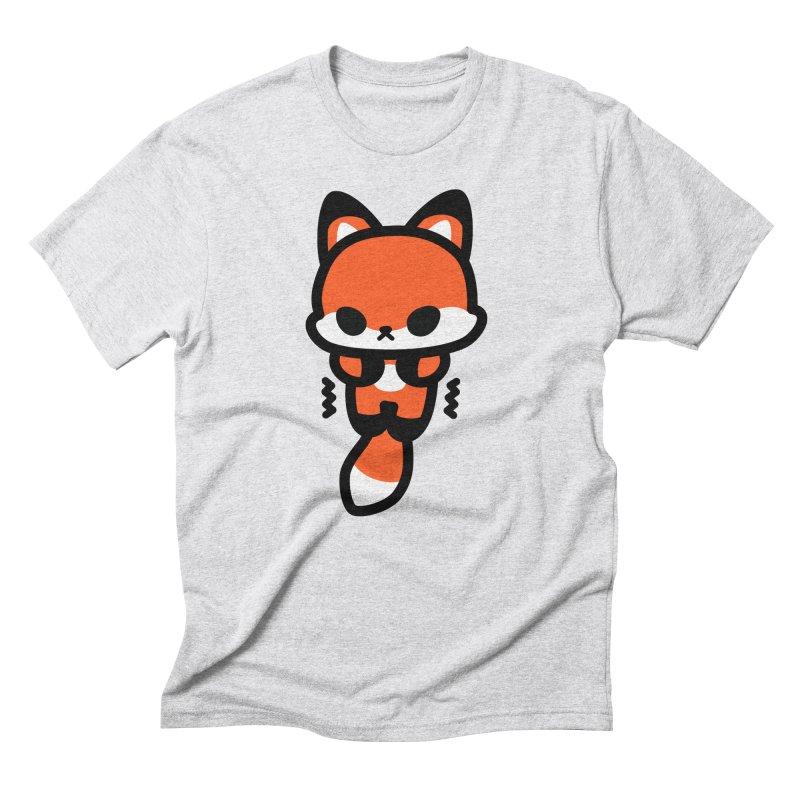 scaredy scaredy fox Men's Triblend T-Shirt by Ziqi - Monster Little