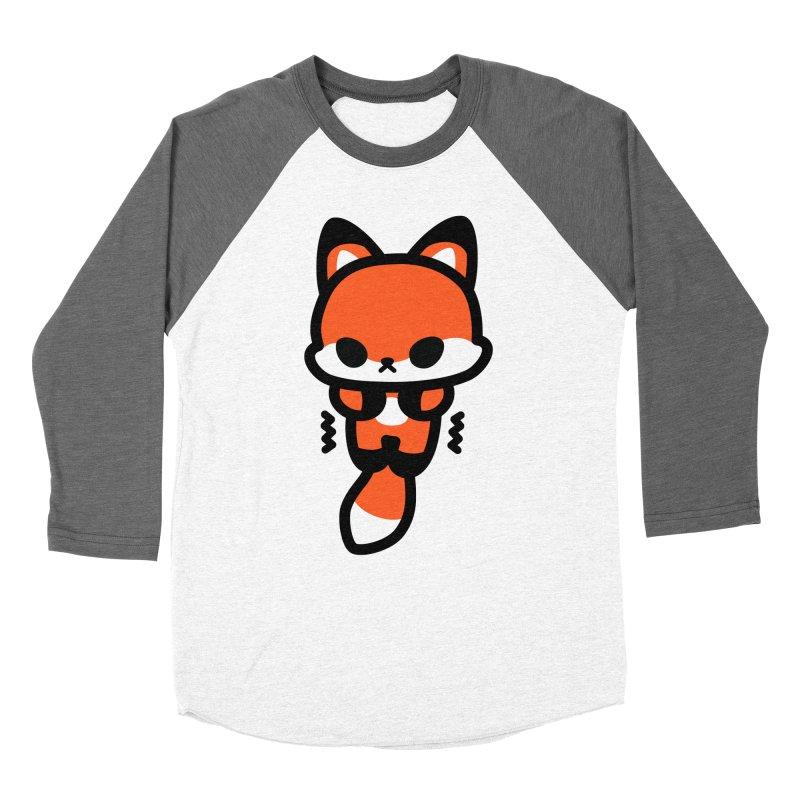 scaredy scaredy fox Women's Longsleeve T-Shirt by Ziqi - Monster Little