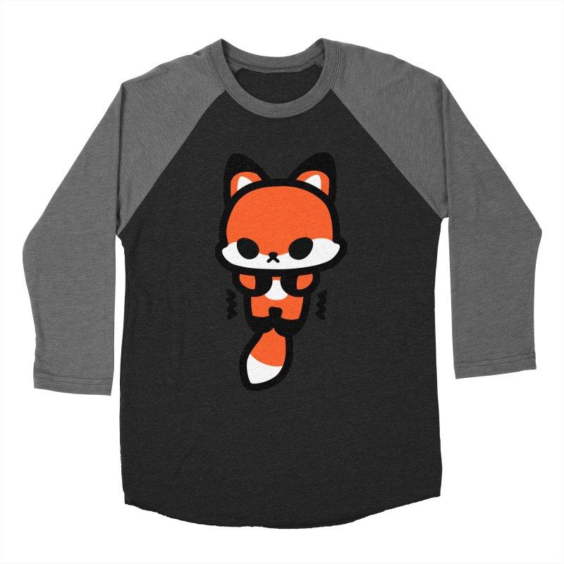 scaredy scaredy fox Women's Baseball Triblend Longsleeve T-Shirt by Ziqi - Monster Little