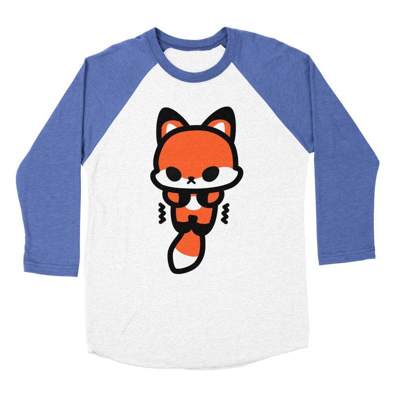 scaredy scaredy fox Men's Baseball Triblend Longsleeve T-Shirt by Ziqi - Monster Little