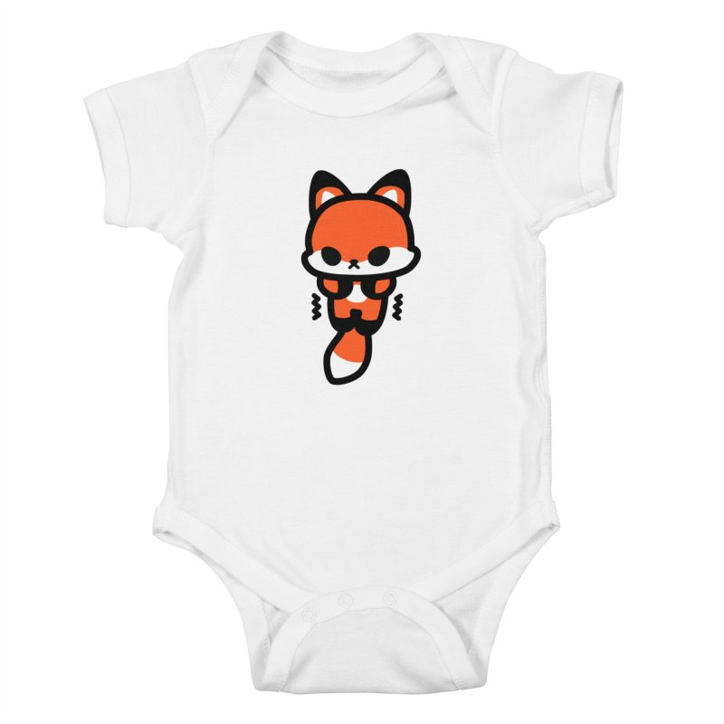 scaredy scaredy fox Kids Baby Bodysuit by Ziqi - Monster Little