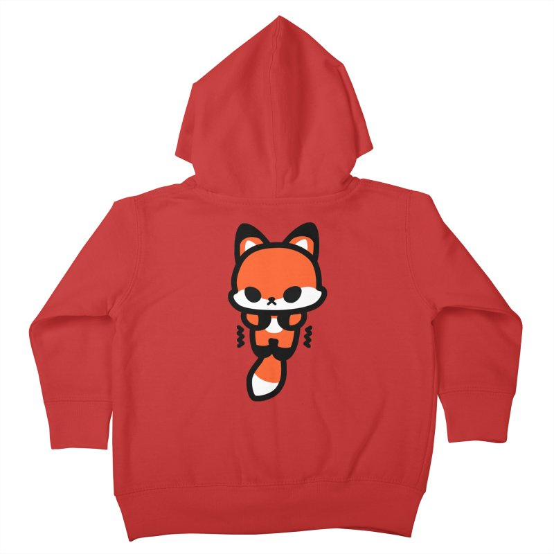 scaredy scaredy fox Kids Toddler Zip-Up Hoody by Ziqi - Monster Little