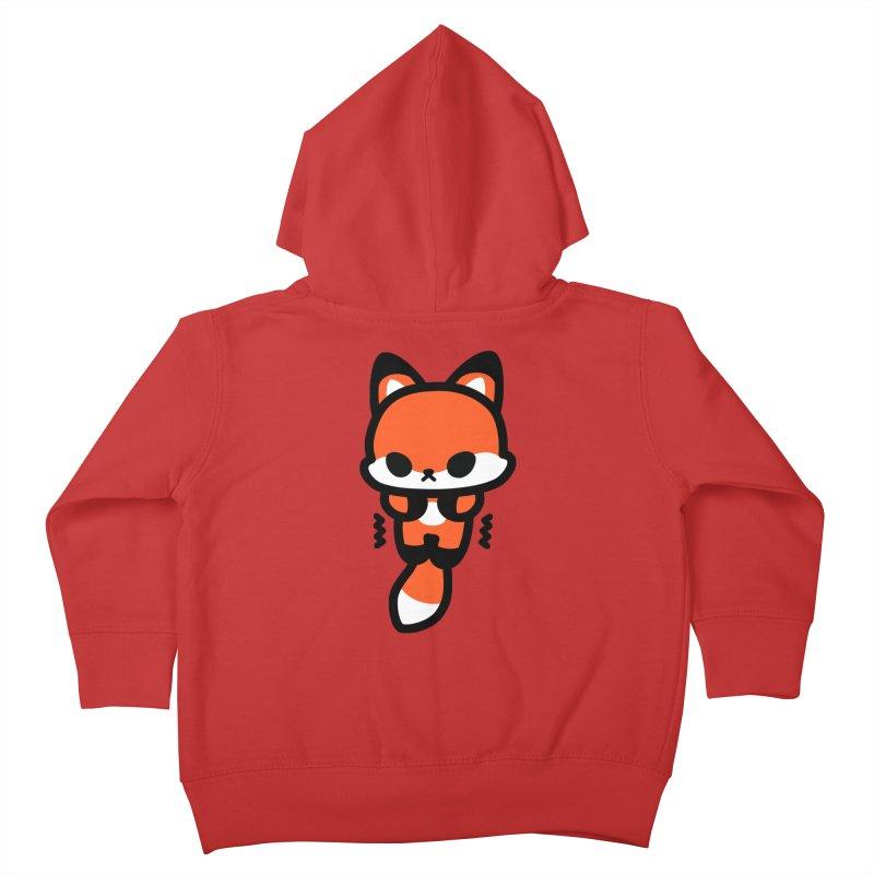 scaredy scaredy fox Kids Toddler Zip-Up Hoody by Ziqi - Monster Little