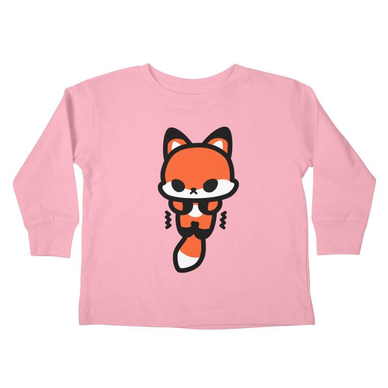 scaredy scaredy fox Kids Toddler Longsleeve T-Shirt by Ziqi - Monster Little