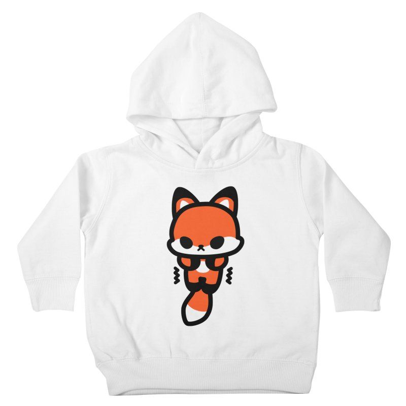 scaredy scaredy fox Kids Toddler Pullover Hoody by Ziqi - Monster Little