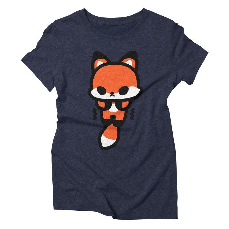 scaredy scaredy fox Women's Triblend T-Shirt by Ziqi - Monster Little