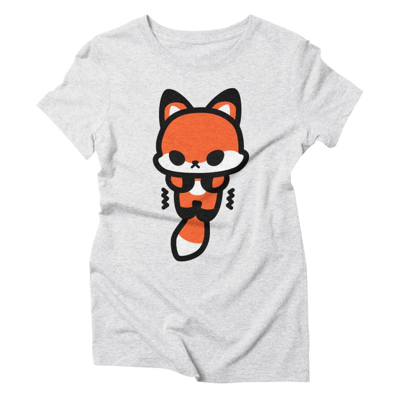 scaredy scaredy fox Women's Triblend T-Shirt by Ziqi - Monster Little