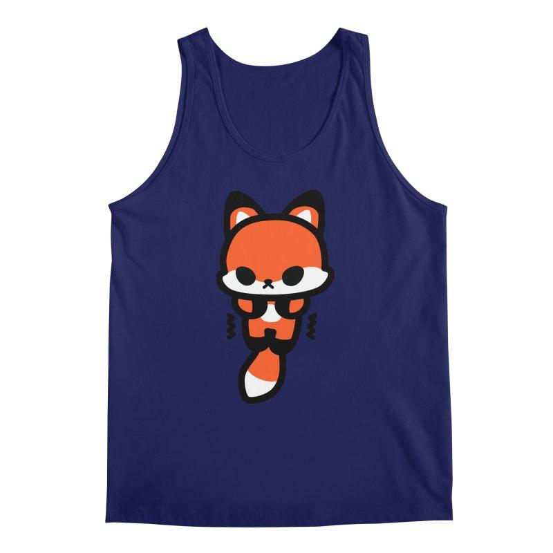 scaredy scaredy fox Men's Tank by Ziqi - Monster Little
