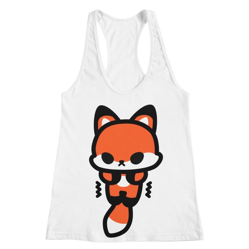scaredy scaredy fox Women's Racerback Tank by Ziqi - Monster Little