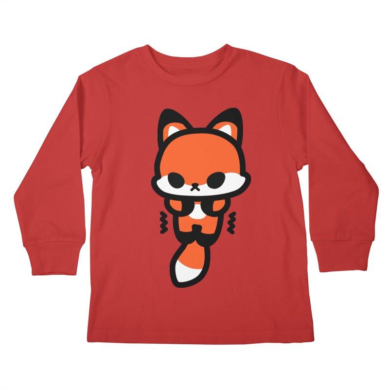 scaredy scaredy fox Kids Longsleeve T-Shirt by Ziqi - Monster Little