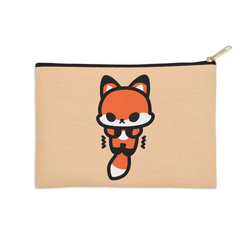 scaredy scaredy fox Accessories Zip Pouch by Ziqi - Monster Little