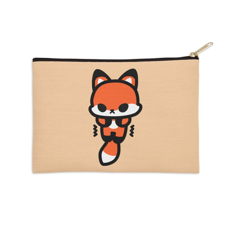 scaredy scaredy fox Accessories Zip Pouch by Ziqi - Monster Little