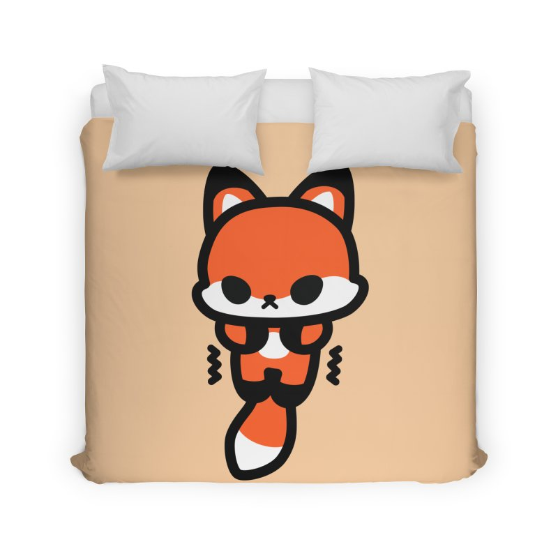 scaredy scaredy fox Home Duvet by Ziqi - Monster Little