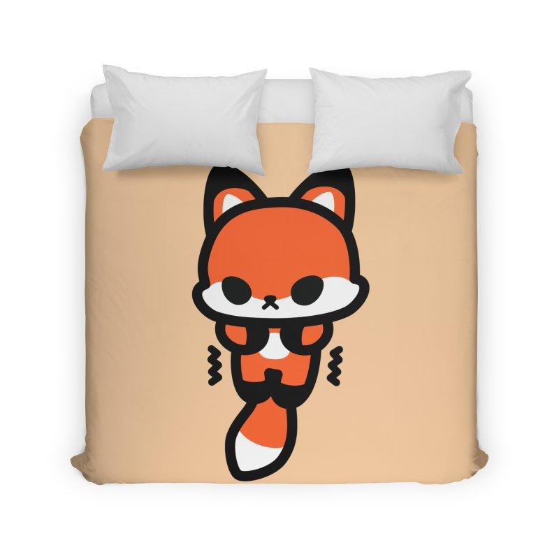 scaredy scaredy fox Home Duvet by Ziqi - Monster Little