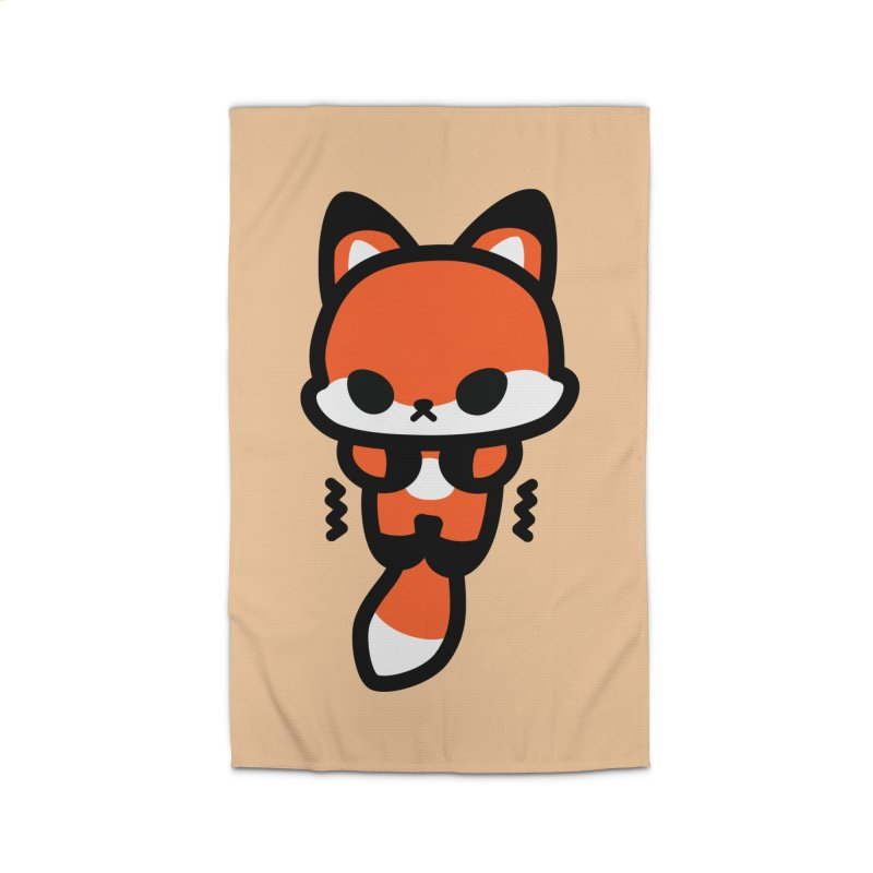 scaredy scaredy fox Home Rug by Ziqi - Monster Little