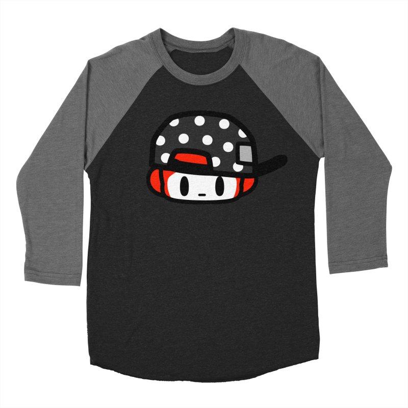 I am hip Women's Baseball Triblend Longsleeve T-Shirt by Ziqi - Monster Little