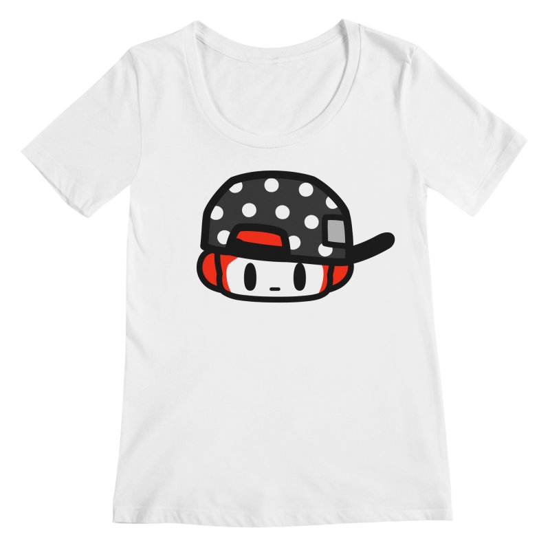 I am hip Women's Regular Scoop Neck by Ziqi - Monster Little