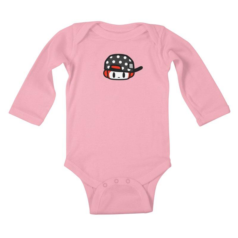 I am hip Kids Baby Longsleeve Bodysuit by Ziqi - Monster Little