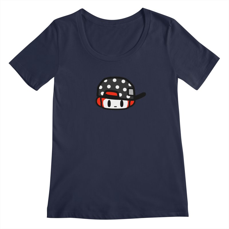 I am hip Women's Scoopneck by Ziqi - Monster Little