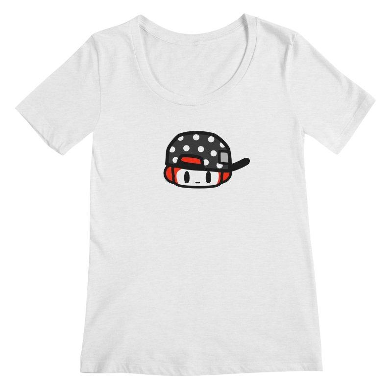 I am hip Women's Scoopneck by Ziqi - Monster Little