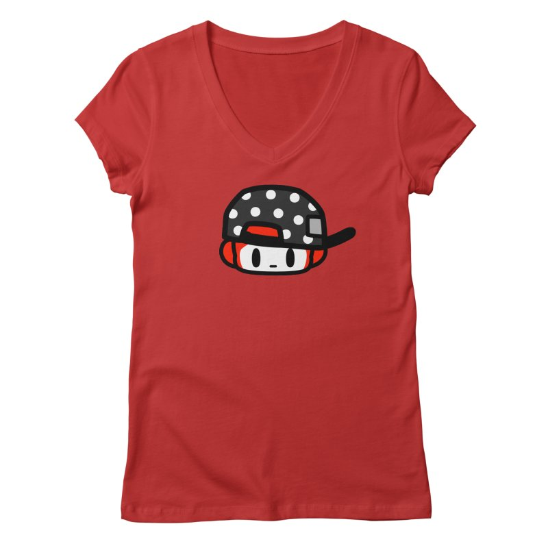 I am hip Women's Regular V-Neck by Ziqi - Monster Little