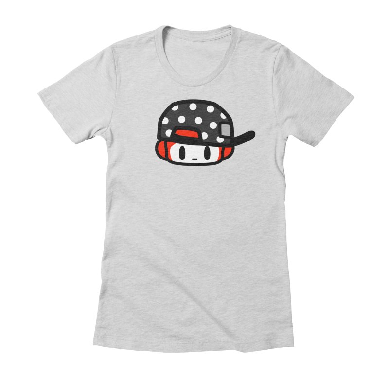 I am hip Women's Fitted T-Shirt by Ziqi - Monster Little