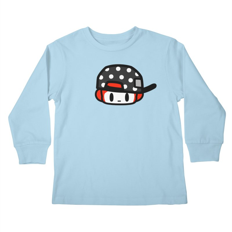 I am hip Kids Longsleeve T-Shirt by Ziqi - Monster Little