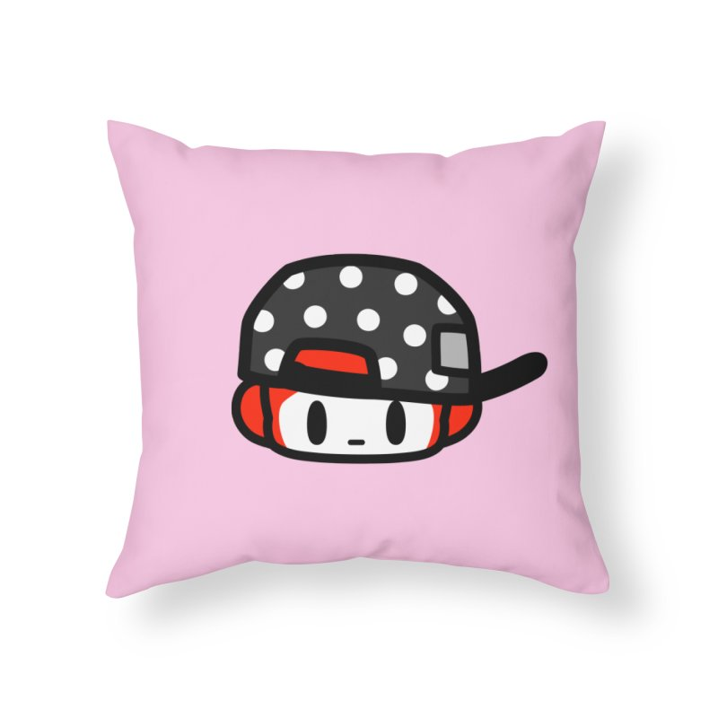 I am hip Home Throw Pillow by Ziqi - Monster Little