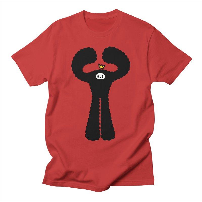 mighty black yeti Men's T-Shirt by Ziqi - Monster Little