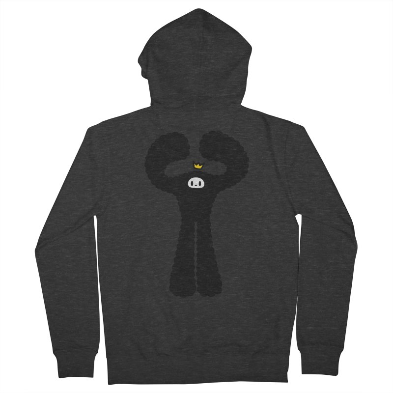 mighty black yeti Women's French Terry Zip-Up Hoody by Ziqi - Monster Little