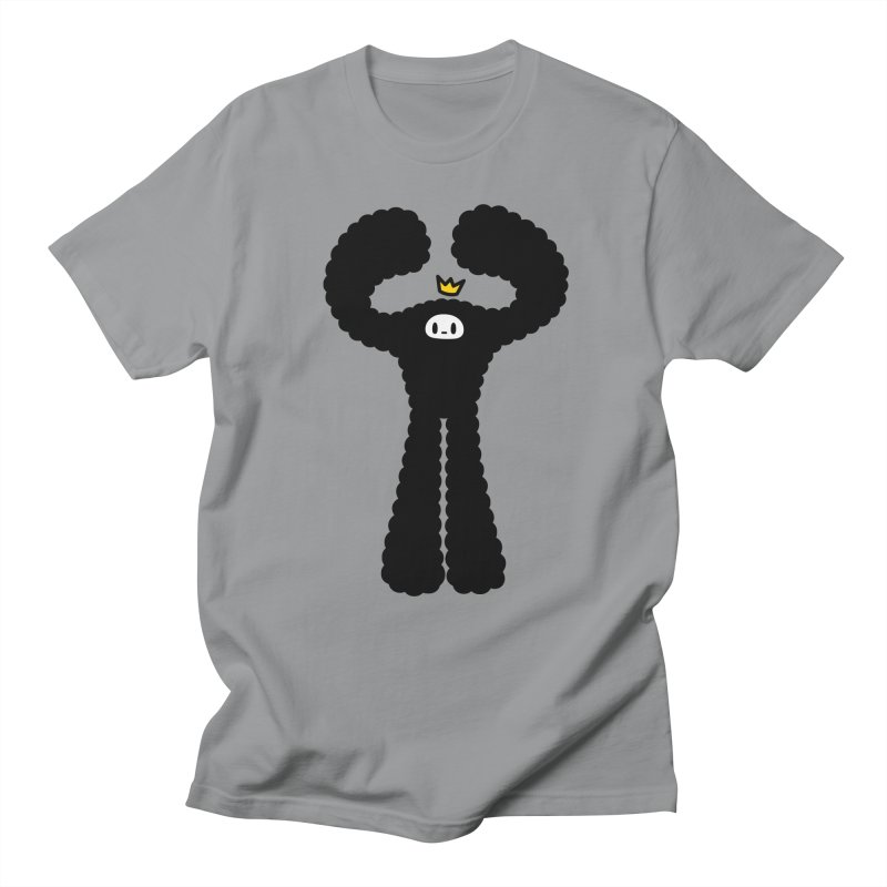mighty black yeti Men's T-Shirt by Ziqi - Monster Little