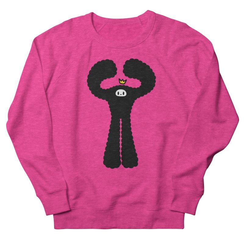 mighty black yeti Women's Sweatshirt by Ziqi - Monster Little