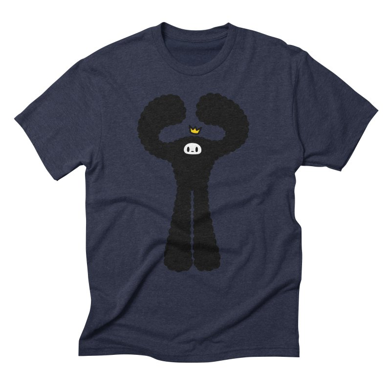 mighty black yeti Men's Triblend T-Shirt by Ziqi - Monster Little