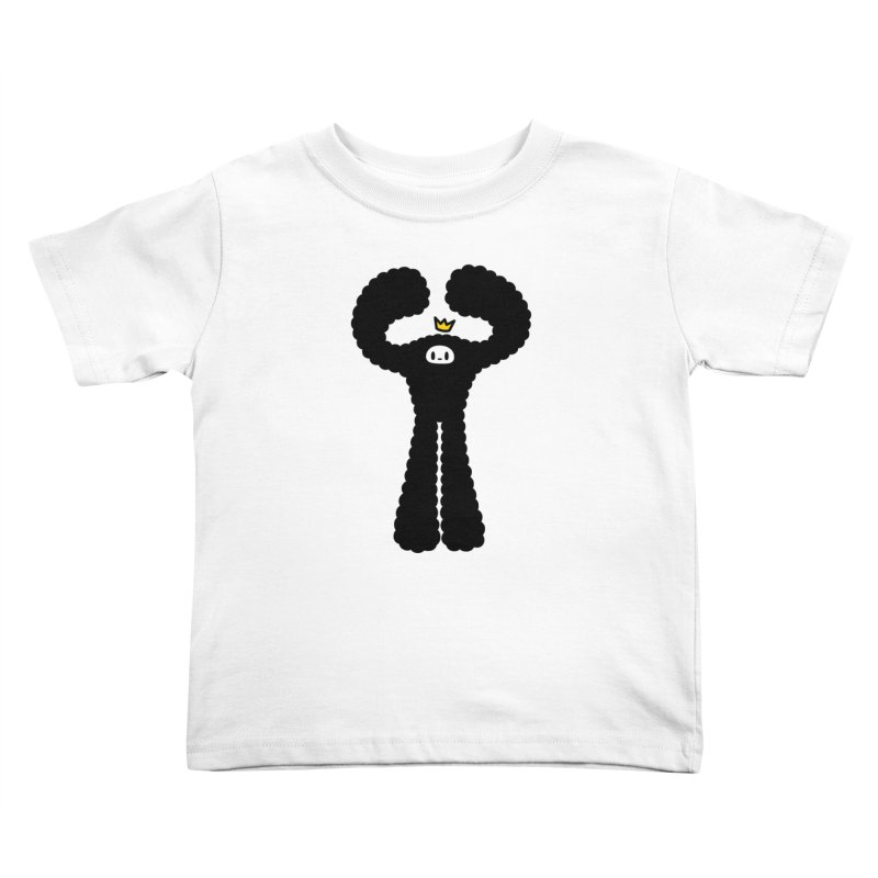 mighty black yeti Kids Toddler T-Shirt by Ziqi - Monster Little